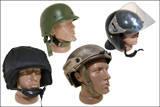 Шлемы и каски кевларовые