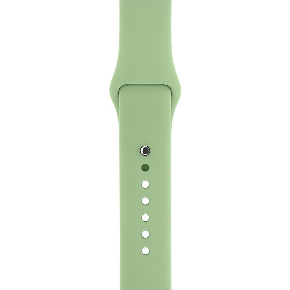 "Ремешок для Apple Watch 42/44 mm ""фисташка"" №1"