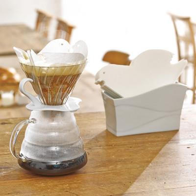 фильтры для приготовления кофе в форме птицы