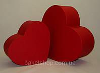 Подарочная картонная коробка ''Сердце''250*200*100,