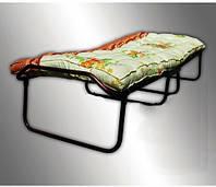 Раскладная кровать с ватным матрасом без колес
