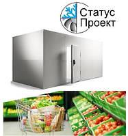 Холодильная камера для супермаркета и магазина 12 м3