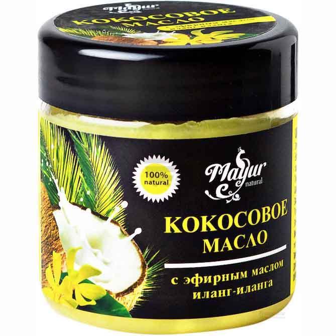 Кокосова олія Mayur для волосся і тіла з ефірною олією Іланг-Іланга 140 мл
