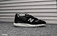 Мужские кроссовки New Balance 998 NJ Black (ТОП РЕПЛИКА ААА+)
