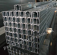 Оцинкованный С-профиль 10х40х40х40х10х1,5 для монтажа солнечных панелей, фото 1