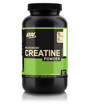 Креатин Optimum Nutrition Creatine Powder 300 г, фото 2