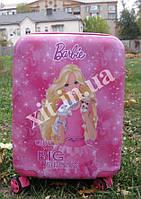 """Детский чемодан 18"""" на 4 колесах Barbie, фото 1"""