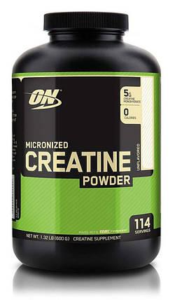 Креатин Optimum Nutrition Creatine Powder 600 г, фото 2