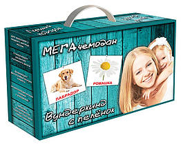 """МЕГА чемодан """"Вундеркинд с пелёнок""""(23 набора карточек)"""