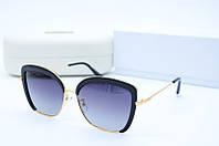 Солнцезащитные очки Ch2305 черные в золоте, фото 1
