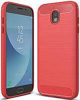 Накладка iPaky Carbon for Samsung J730 Red