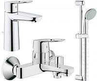 Набор смесителей для ванной M-size Grohe BauLoop 123215M