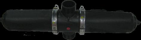 """Фильтр Ender дисковый 4"""" двойной short  (пропускная способность 70 м3/ч) для капельного полива"""