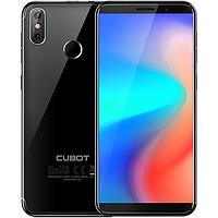 Смартфон черный, тонкий с двойной камерой на 2 сим карты Cubot J3 black 1/16GB