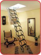 Чердачная лестница «OMAN» модель «Nozycowe»