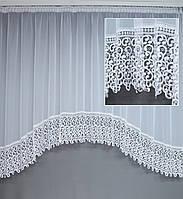 ТЮЛЬ-АРКА шифон мод. Т617 (можливі будь-які розміри) на карниз 2 метри