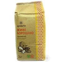 Мука пшеничная грубого помола цельнозерновая ТМ Яровита (2 кг)