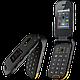 Кнопочный телефон защищенный раскладушка с большим дисплеем и хорошей батареей на 2 симки iOutdoor F2 black, фото 2