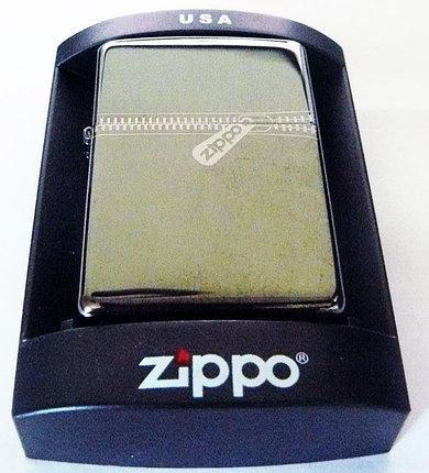 """Зажигалка Zippo """"ZIPPER"""" зеркальная, копия"""