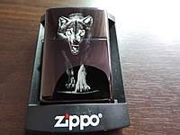 Оригинальная Зажигалка ZIPPO-«Wolf power». Зиппо оригинальное.