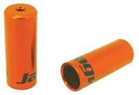Колпачок на рубашку JAGWIRE Open BOT192NJ - тормозной 5мм - Orange алюминий (50шт)