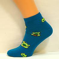 Носки заниженные хлопковые со свинками