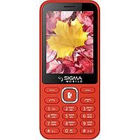 Кнопочный телефон с аккумулятором большой емкости и павер банком Sigma X-Style 31Power Red