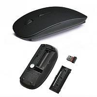 Миша бездротова USB, Black, фото 1