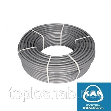 Труба багатошарова 14x2 Kan-therm PE-Xc/Al/PE-HD Push Platinum, фото 2