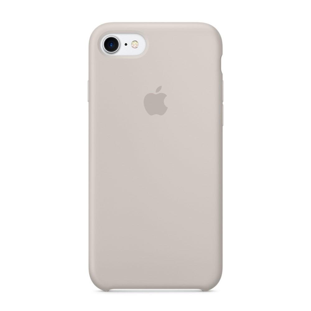 Силиконовый чехол для iPhone 8, - «белый камень» - copy original