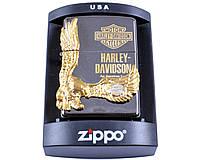"""Зажигалка бензиновая Zippo """"Harley-Davidson"""" копия, фото 1"""