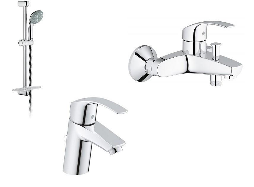 Eurosmart Набір змішувачів для ванни (33265002+33300002+27926000)