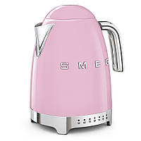 Чайник электрический Smeg KLF04PKEU с регулируемой температурой