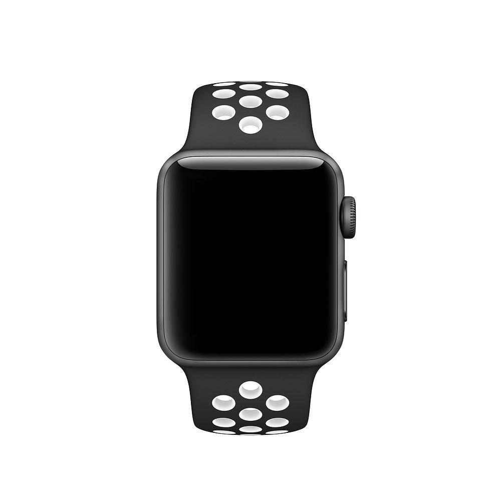 Ремешок Nike+ Sport Band для Apple Watch 42/44 mm Black/White