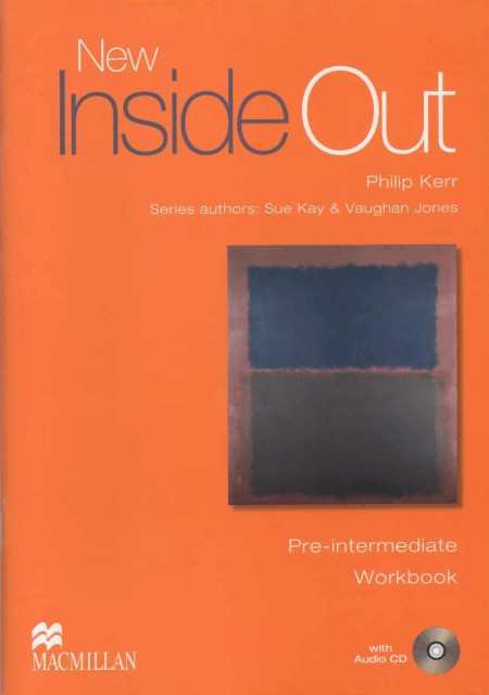 New Inside Out Pre-Intermediate Workbook with key and Audio CD