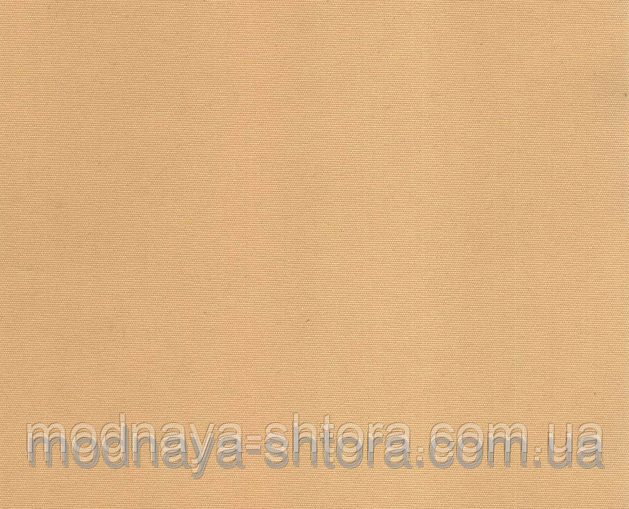 """Тканевые рулонные шторы """"Oasis"""" сатин (золотой песок), РАЗМЕР 50х170 см"""