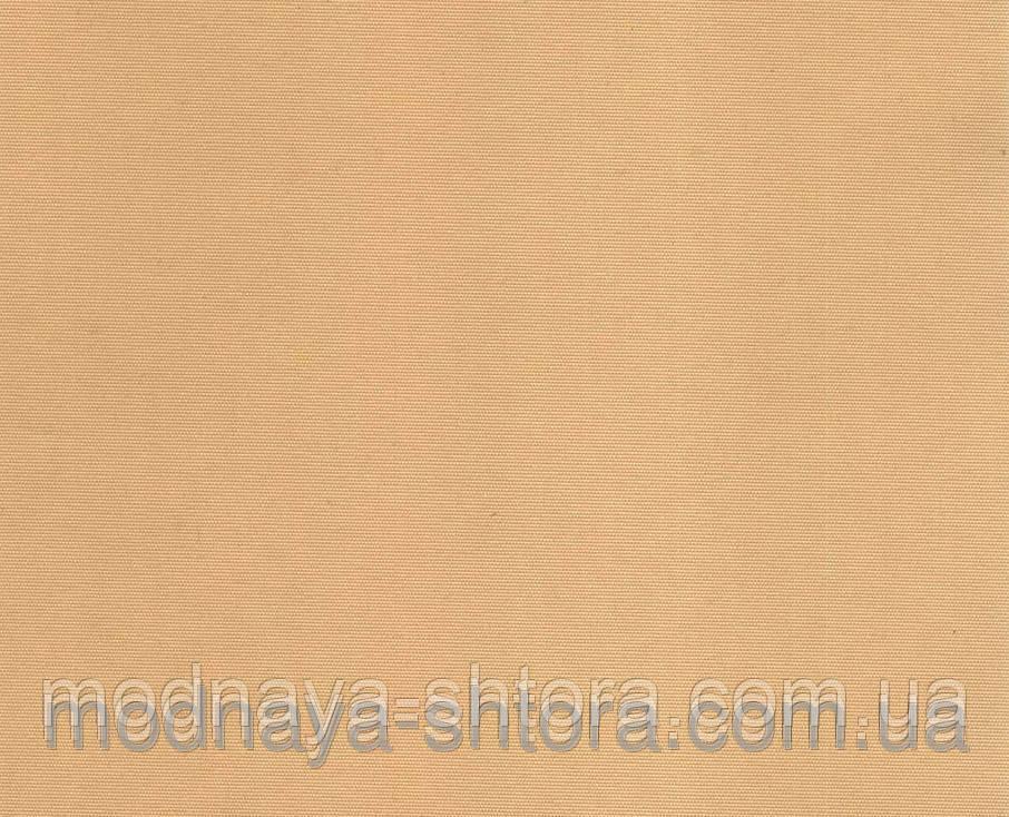 """Тканевые рулонные шторы """"Oasis"""" сатин (золотой песок), РАЗМЕР 52,5х170 см"""