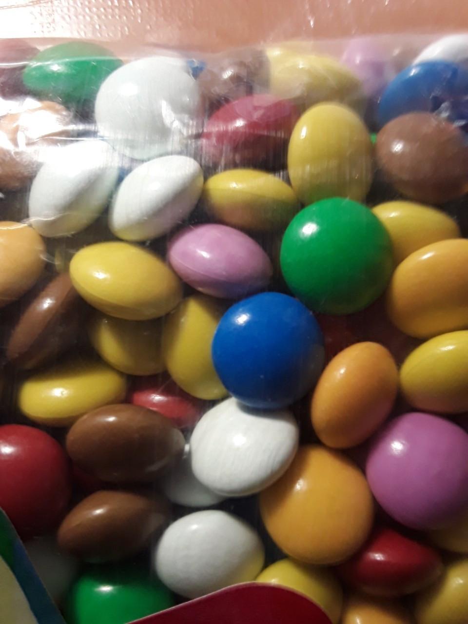 Шоколадні эмэмдемсики вагові 200 грам ТУРЕЧЧИНА