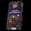 Шоколад молочный Fin Carre (с цельным лесным орехом) Германия 200г, фото 4