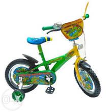 """Детский двухколесный велосипед 14"""" Черепашки Ниндзя"""