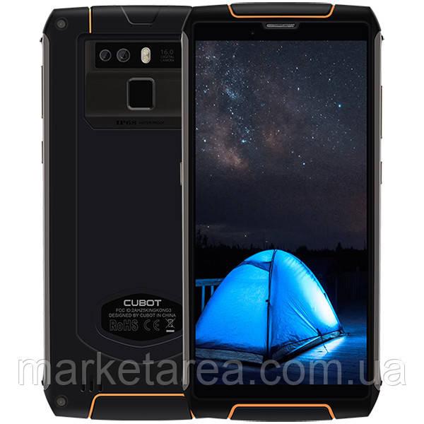 Смартфон защищенный с большим дисплеем и мощной батареей на 2 сим карты Cubot King Kong 3 black 4/64GB