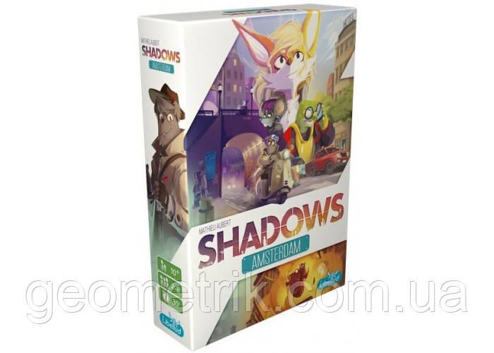 """Настільна гра """"Тіні: Амстердам (Shadows: Amsterdam)""""(для всієї родини, для компаній)"""