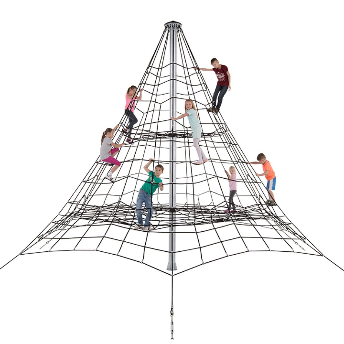 Веревочная Пирамида из каната 5 метра высота