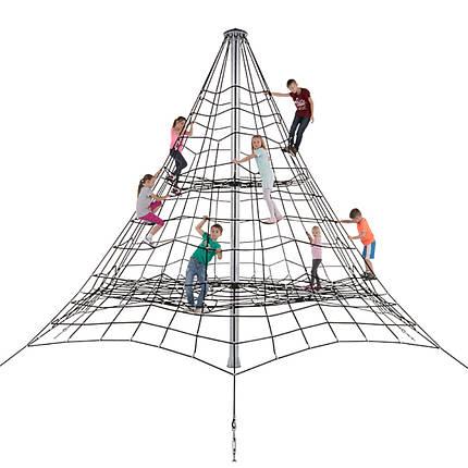 Веревочная Пирамида из каната 5 метра высота, фото 2