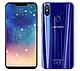 Смартфон синий с двойной камерой, отпечатком пальца и большим экраном на 2 sim Leagoo S9 blue 4/32GB, фото 3