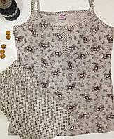 Пижама женская с шортами Bella Secret S,L,XL, фото 1