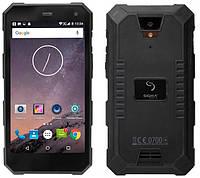 "Защищенный смартфон Sigma mobile X-treme PQ24 black IP68 (2SIM) 5"" 1/8ГБ 2/8МП 3G Гарантия! (ПРЕДОПЛАТА 100%)"