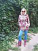 Шубка-курточка удлиненная в стиле Матрешка