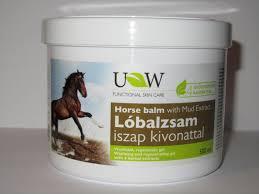 Конный бальзам Экстракт морской грязи UW Classic Horse Balm +4 травы - 500 мл Венгрия
