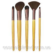 Набор кистей для макияжа Eco Tools Six Piece Day-To-Night Set 1272 (5 кистей+косметичка/клатч), фото 3